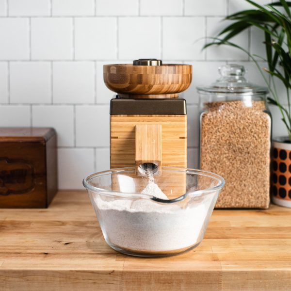 NutriMill Harvest kitchen stand up mill