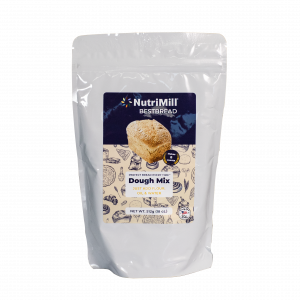 NutriMill Best Bread dough Mix isolated